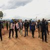 WHO delegation in Butembo, Democratic Republic of the Congo, where the Ebola situation is worsening (April 2019)
