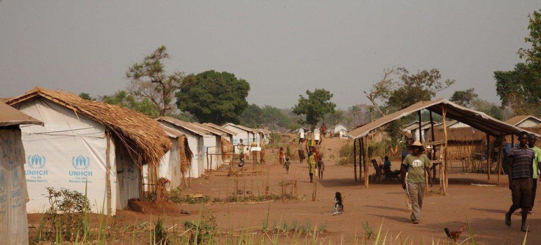 Le camp de réfugiés centrafricains de Bili, Province du Nord-Ubangi, en RDC.