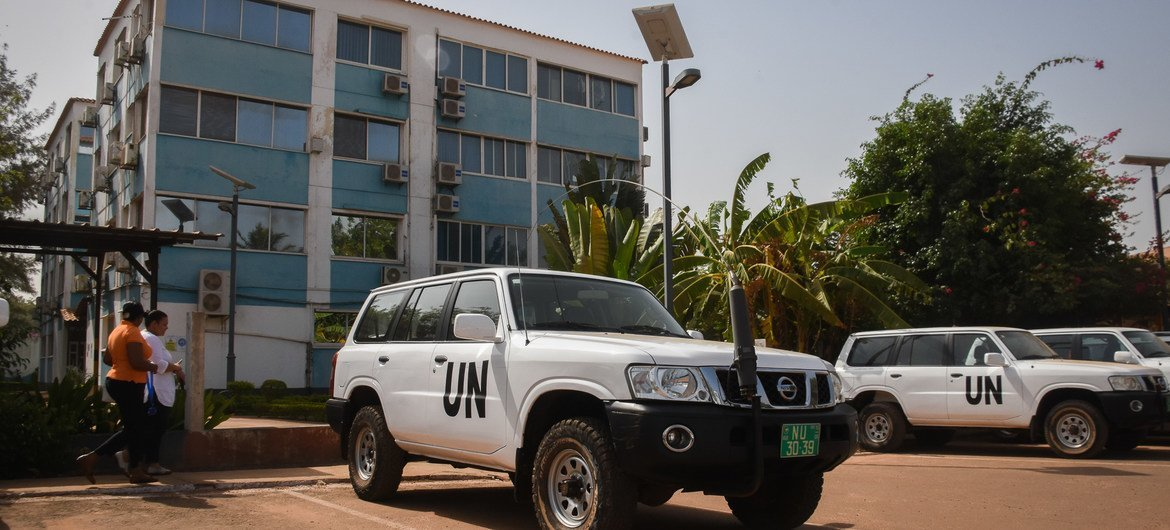 Headquarters of the United Nations Integrated Peacebuilding Office in Guinea Bissau, Uniogbis