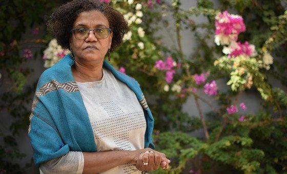 Presidente da Associação de Mulheres Juristas da Guiné-Bissau, Helena Neves Abrahamson