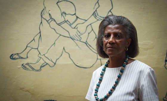 Coordenadora da Casa dos Direitos,em Bissau, Filomena Ferreira