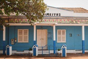 Casa dos Direitos, em Bissau Velha