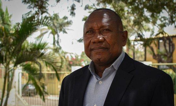 Membro da comissão organizadora da Conferência de Reconciliação Nacional Ricardo Semedo