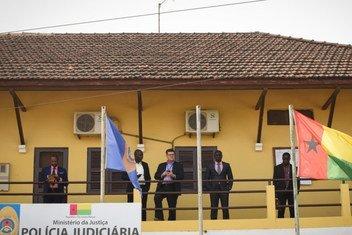 Sede da Polícia Judiciária em Bissau, na Guiné-Bissau