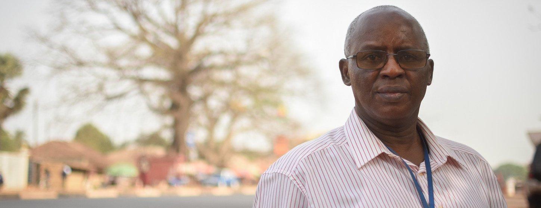 Ex-militar e oficial de assuntos políticos do Uniogbis, Arsénio Baldé