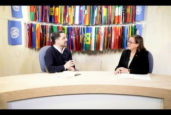 Secretária de Estado Assuntos Europeus de Portugal, Ana Paula Zacarias, em entrevista à ONU News