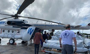 The World Food Programme (WFP) speeds up food distributions in the cyclone-ravished city of Beira, Mozambique.