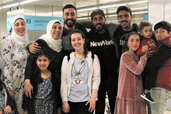 Refugiados da Síria e do Iraque foram acolhidos por Portugal.