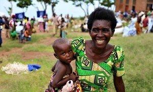 Julienne Irankunda, mkimbizi wa ndani katika kambi ya Gitaza nchini Burundi.