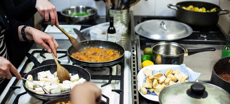 Mulheres receberão cursos sobre o aproveitamento integral dos ingredientes e nutrição