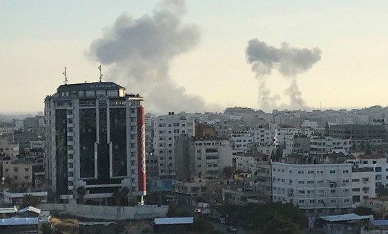 Bairro de Rimal, na Cidade de Gaza.
