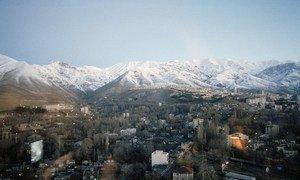 Teerã, capital do Irã.