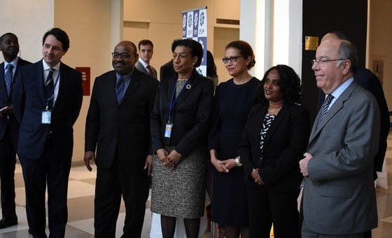 Embaixadores de Estados-membros na festa do Dia da Língua Portuguesa e da Cultura na Cplp.