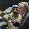 联合国5月6日举行了为自去年1月1日以来殉职的联合国工作人员举行了年度纪念活动。联合国秘书长古特雷斯为逝者默哀,并向其家属和亲人表示最深切的哀悼。