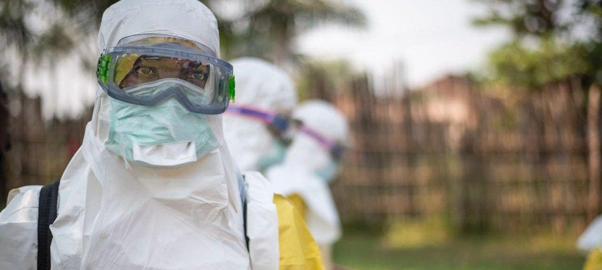 Cerca de 1,914 mil casos de ebola já foram relatados no segundo maior surto da doença na história na República Democrática do Congo.