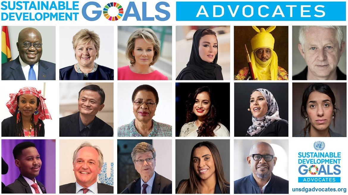 New SDG Advocates sign up for 'peace, prosperity, people' and planet