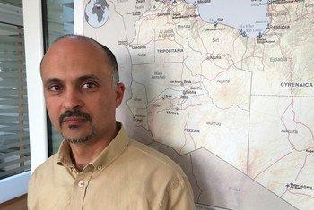 الدكتور إدريس عزابو المسؤول بقسم الطوارئ في مكتب منظمة الصحة العالمية في تونس