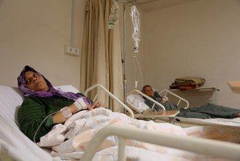Pacientes en un hospital en Trípoli, Libia.