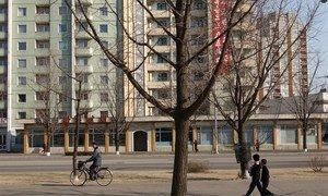 Pyongyang, capital da Coreia do Norte.