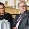 """Guterres explicou que a organização está a promover """"um conjunto de iniciativas muito importantes em que tentamos mobilizar representantes de jovens de todo o mundo."""""""