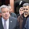 В Крайстчерче Антониу Гутерриш посетил мечети, где два месяца назад произошли терракты