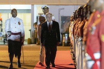 Durante a reunião de líderes do Fórum das Ilhas do Pacífico, nas ilhas Fiji, Guterres recordou que esta região está na linha de frente da mudança climática.