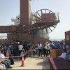 Глава Координационного комитета по передислокации Майкл Лолисгаард посетил йеменские порты Ходейда, Салиф и Рас-Исса.