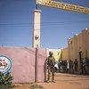 مقر قوة الساحل المشتركة في مدينة مومبتي في وسط مالي.