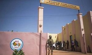 L'un des quartiers généraux du G5-Sahel à Mopti, dans le centre du Mali (archive 2017)