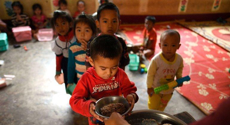 820 millions de personnes souffrent de la faim, selon un nouveau rapport de l'ONU