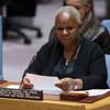 La Guinéenne Bintou Keita, prochaine Représentante spéciale et Cheffe de la Mission de l'Organisation des Nations Unies pour la stabilisation en République démocratique du Congo (MONUSCO).