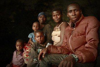Des Burundais rapatriés de Tanzanie dans le centre de transit de Mabanda, dans la province de Makamba, au Burundi le 24 avril 2018 (archive)