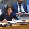 Rosemary DiCarlo fala ao Conselho de Segurança