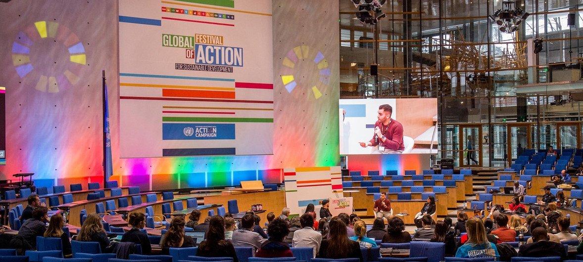 Festival de Acción Global, en la ciudad alemana de Bonn.