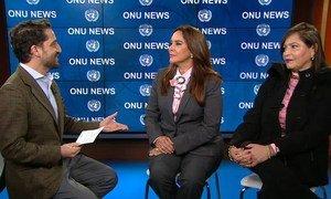 Samia Barbieri e Tatiana Ujacow estiveram na sede da ONU, em Nova Iorque, para participar no Fórum Permanente de Assuntos Indígenas da ONU.