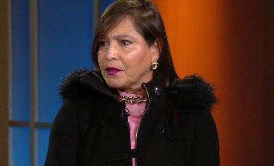 Samia Barbieri destacou a importância da preservação das línguas indígenas.