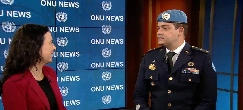 Destaque Especial ONU News com o Major Sérgio Carrera