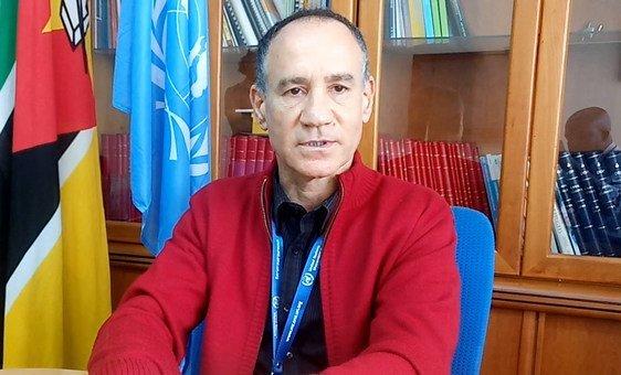 Marcoluigi Corsi, coordenador residente da ONU e coordenador humanitário em Moçambique.
