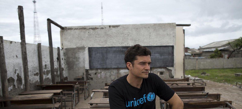 O embaixador do Unicef Orlando Bloom está entre as personalidades que assinaram o apelo