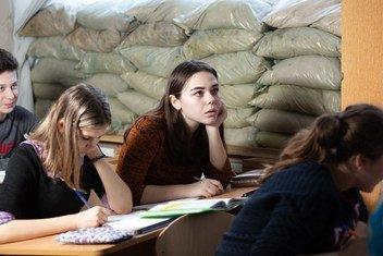 Les attaques contre les écoles à l'est de l'Ukrainee ont quadruplé.