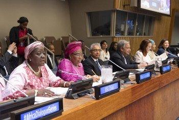 L'édition 2019 du Dialogue sur l'Afrique a oivert ses portes au siège de l'ONU à New York le 21 mai 2019