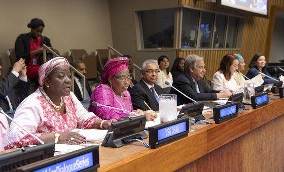 В штаб-квартире ООН стартовала серия Диалогов по Африке. 21 мая 2019 года.