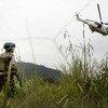 Soldado da paz na República Democrática do Congo