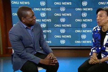 Embaixadora Maria de Jesus Ferreira defende soluções novas para integrar deslocados em processos de desenvolvimento.
