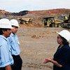 Nelia Fernández es la primera gerente en una compañía minera en Kalimantán, Indonesia.