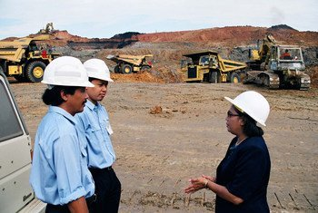 Nella Fernández is the first female manager in a mining company in East Kalimantan.
