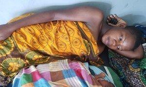 Vítima de fistula na Tanzânia