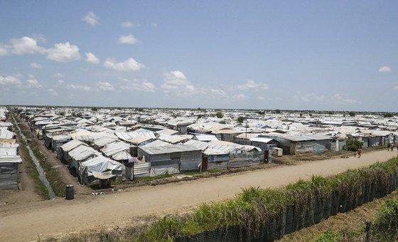 Sudão do Sul vive a maior crise de deslocamento da África.