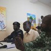 An art exhibition in Juba,  supported by the UN mission in South Sudan (UNMISS), seeks to educate people about gender and sexual based violence. (May 2019)