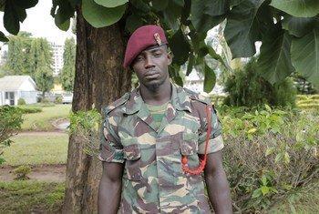 Koplo Ali Khamis Omary ni mlinda amani mtanzania aliyeokolewa na mlinda amani marehemu Chancy Chitete kutoka Malawi.